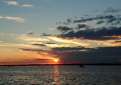 Resurgam (SteveJM2009) Tags: sandbanks sun light clouds weather sea poole harbour colour sunset dorset uk july 2017 summer stevemaskell