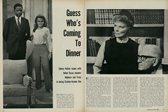 """Guess Who's Coming to Dinner"" (1967), Article & Photos, 1 of 2 (classic_film) Tags: guesswhoscomingtodinner 1967 film movie cinema cine katharinehepburn spencertracy sidneyportier actress añejo american america sixties 1960s old alt vintage retro revista man woman magazine época ephemeral classic clásico schön schauspielerin aktrice akteur aktor nostalgic nostalgia hollywood entertainment romance beauty prettygirl mujerbonita mujer frau hübschefrau hübschesmädchen niñabonita actrice actriz actor acteur"