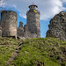 Kostomlaty castle ruins