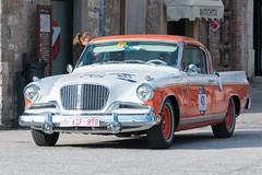 Mille Miglia, Gubbio 2017 (MikePScott) Tags: camera car events goldenhawk gubbio italia italy millemiglia nikon28300mmf3556 nikond600 studebaker transport umbria