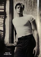 Brando! (Carolyn Arzac) Tags: bw lookmagazine marlonbrando coolpix nikon 1965 antique actor broadway flickr