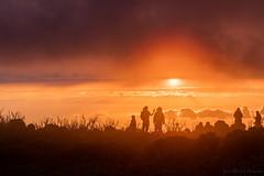 Le lever du soleil-HDR