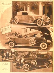 1932 Cars, Pg. 2 (aldenjewell) Tags: 1932 packard convertible victoria duesenberg phaeton studebaker deluxe sedan motor land article
