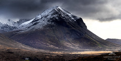 The shadowed face. (lawrencecornell25) Tags: landscape scenery scotland skye isleofskye mountain marsco redcuillins cuillins nature outdoors winter snow cold nikond5