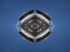 Palooca (Ed Sax) Tags: edsax art photokunst photoart hamburg freieundhansestadthamburg surreal abstract muster desing irreal blau weis