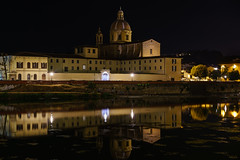 San Frediano in Cestello (technodude67) Tags: cult architecture church cityscape firenze florence it italia italy landscape longexposure night reflection street toscana travel tuscany unlimiteditaly water watertrail