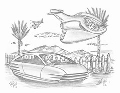 What The (rod1691) Tags: bw scifi grey concept custom car retro space hotrod drawing pencil h2 hb original story fantasy funny tale automotive art illistration greyscale moonpies sketch