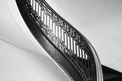 banister (eb78) Tags: bw blackandwhite monochrome greyscale grayscale sf sanfrancisco financialdistrict banister mechanicsinstitutelibrary