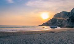 Calmness at the Beach (Insomnia Audiovisual) Tags: sea beach sunset sand calmness maruata playa