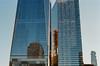 One World Trade Center & 7 World Trade Center (beltz6) Tags: 1wtc 7wtc 1worldtradecenter oneworldtradecenter 7worldtradecenter sevenworldtradecenter worldtradecenter ny nyc newyork newyorkcity reflection reflections nikon f100 nikonf100 ektar