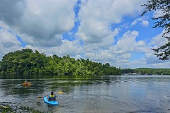 ~  Down On, The Lazy River ..... (~ Cindy~) Tags: soddy daisy marina canoes kayaks peacefulness tennessee