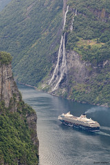 Cruising to fjords (___pete___) Tags: mein schiff 1 tui cruiser nature geiranger norway fjord