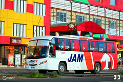 JAM Liner, Inc. - 1563 (keso_de_bola) Tags: philbes philippine bus enthusiasts society jam liner 1563 santarosa motor works daewoobus daewoo bs106 doosan de08tis