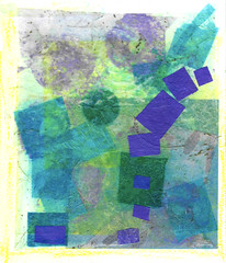 Day8-9_abstract-2-botanical (snapshot du jour) Tags: collage tissue paper layers landscape abstract
