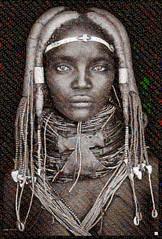 tribe of Angola Mosaico (by zurera) Tags: digital hd art collage retratos portraid zurera people fotomontaje image autoretratos mosaic