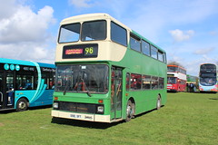 Kentish Bus G510 SFT. (steve vallance coach and bus) Tags: g510sft leylandolympian northerncounties southeastbusfestival detling preserved kentishbus