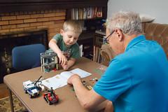 179/365 legos with grandpa