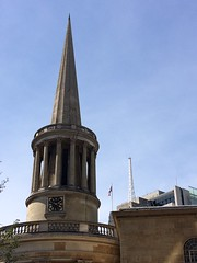Spires (My photos live here) Tags: london capital city england urban building all souls langham place church spire tower aerial bbc