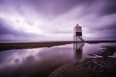 After storm! (peterchilds93) Tags: burnham lighthouse long exposure nd filter polariser beach sand reflection storm cloudy smooth
