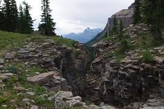 Small canyon (Andrew Pizzinato) Tags: mountain hiking castlemountain banff banffnationalpark