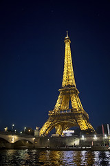 :: eiffel at night :: (mjcollins photography) Tags: eiffel tower tour paris france city europe arcitecture night low light