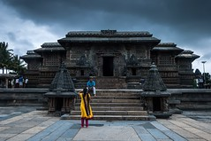 Chennakesava Temple, Belur (Yesmk Photography) Tags: chennakesava temple vishnu belur hassan hoysala karnataka bangalore yesmk muthukumar onestatemanyworlds clouds india tourism architecture nikon nikond90 iamnikon d90