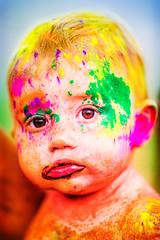 American Baby (Thomas Hawk) Tags: festivalofcolors festivalofcolors2012 hindu holi jarviewalk jarviewalk2012 sanfrancisco spanishfork usa unitedstates unitedstatesofamerica utah baby fav10 fav25