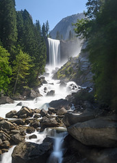 Vernal Falls (Bix103) Tags: green waterfall lee big stopper polarizer nikon d810 yosemite california vernal falls mist trail yosemiteconnect