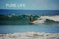 Grettel Guerrero surfing Pico (Pure Life Surf) Tags: surfing swell water surf film costa rica reef break pure life travel fun surfer girl