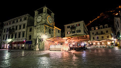 Trg od Oružja (Dan_Fr) Tags: kotor montenegro dalmatia europe city street travel night light tower old tourism urban architecture building square town clock outdoors illuminated sony a7r