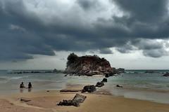 Mirissa - 2 Girls On The Beach (Drriss & Marrionn) Tags: travel ceylon srilanka southasia outdoor nature beach seaside tropics mirissa coast coastline sea sky skies sand people girls island water ocean shore