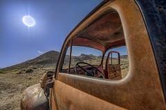 _DSC8191_2_3_4_5_6_7-HDR (kymarto) Tags: truck desert nevada rhyolite ghosttown abandoned nikon hdr nikonphotography nikond800