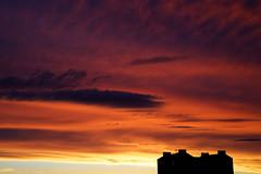 IMGL3892_DxO (baptisteflageul) Tags: couchedesoleil sunset soir evening soleil sun nuages clouds cloudporn ciel sky skyporn orange rouge red jaune yellow wow nature paysage landscape bleu bluehour blue paris france urbain urban