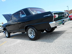 1964 Chevy II (splattergraphics) Tags: 1964 chevy chevyii gasser customcar carshow nsra streetrodnationalseast yorkexpocenter yorkpa