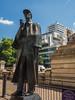 一出Baker Street地鐵站就看見福爾摩斯銅像 (newagefanlee) Tags: 倫敦 london