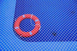 monday blues: the pool is closed