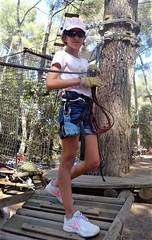 L'aventure au niveau de la canopée (Gébété29) Tags: accrobranche var sixfourslesplages
