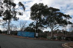 Another Mr Fluffy corner of Hinkler and Kauper St (spelio) Tags: canberra act australia 2017 july house housing place homes architecture mrfluffy asbestos removal demolition clearing blocks