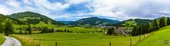 2017-07-19_10-57-54-Pano (der.dave) Tags: 2017 flachau juli panorama salzburg sommer vormittag wolken wolkig bewölkt vormittags österreich