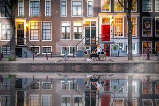 Candle light dinner - Amsterdam