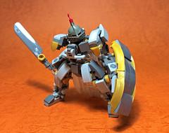 Lord's Armor-02 (ToyForce 120) Tags: lego robot robots mecha mech mechanic legomech legomoc