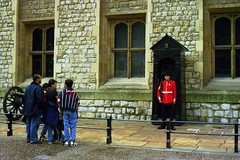 Those who stare (jevidal) Tags: london tower beefeater tourists stare canon castle