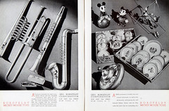 1936-37 Mickey Mouse Merchandise 02 (Tom Simpson) Tags: 1936 1937 1930s vintage disney mickeymouse music musicalinstruments