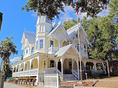 J.P. Donnelly House, Mount Dora (StevenM_61) Tags: architecture house masoniclodge victorian queenannestyle gingerbread mountdora florida