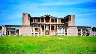 SARDIS Ancient Cities. The Bath-Gymnasium Complex at Sardis .   Salihli/Turkey