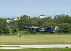 Blue Angel 1 (MIDEXJET (Thank you for over 1 million views!)) Tags: milwaukee milwaukeewisconsin generalmitchellinternationalairport milwaukeemitchellinternationalairport kmke mke gmia wisconsin unitedstatesofamerica