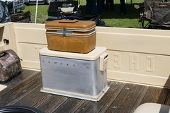chevrolet luggage & cooler (bballchico) Tags: chevrolet pickuptruck carshow santamariaca luggage cooler icechest
