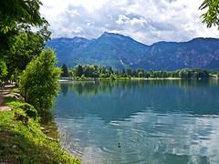 Lago di Levico (Lollo [neon]) Tags: lago levico levicoterme sentiero acqua trentino montagne