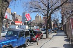 Matrix (MikeRatti) Tags: new york ny nyc city explore adventure photo photography canon t3i dslr bent sign
