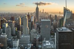 I love NY (Paolo Luppino 73) Tags: ny newyork travel people street urban jungle humans city sunset cityscape clouds nuvole skyscraper manhattan empirestatebuilding 35mm